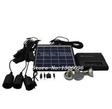 FREE Shipping Solar mobile power cell phone camera tablet charging treasure for outdoor camping lamps(China)