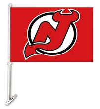 30X45CM New Jersey Devils  window car Flag car decoration With flagpole Free Shipping