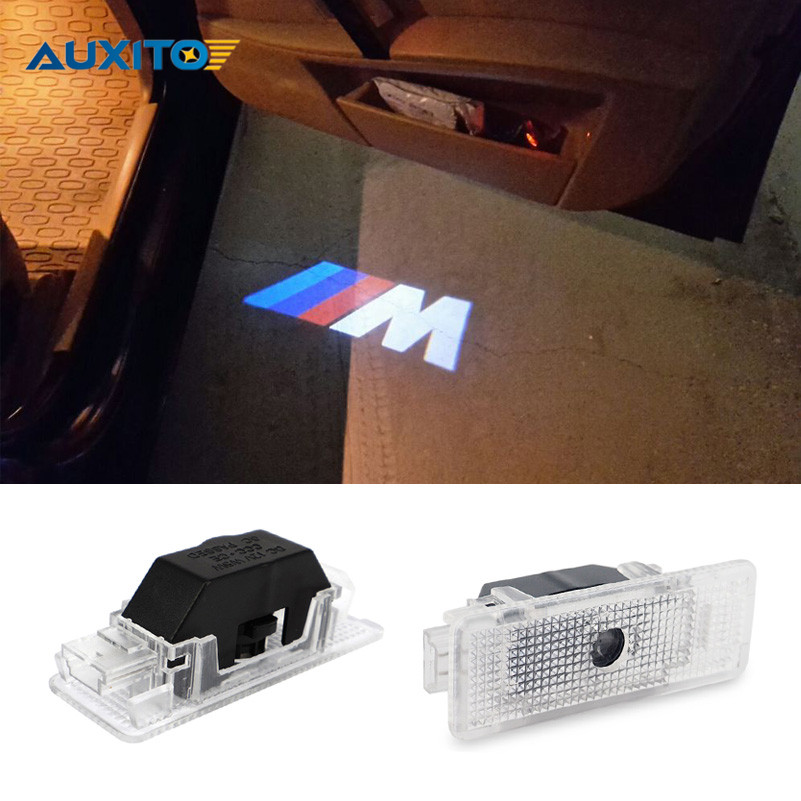 2x No Drilling LED Ghost Shadow Projector Laser Courtesy Logo Light For BMW E39 E53 X5 5 Series<br><br>Aliexpress