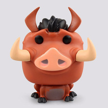 No Original Box 12cm 1PCS Funko POP Pumbaa Cute Pig Vinyl Figure Cartoon Mini Decorative Collection Model Toy Gifts