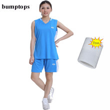 FREE WRIST ARM BAND Great Selling Women Basketball Training Uniform Customized Team Sportswears DIY Shirts Adult Jerseys Kits