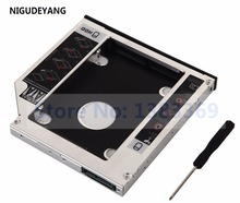 NIGUDEYANG SATA 2nd Hard Drive HDD SSD Caddy Adapter for HP Pavilion G6 G7 Series G7-1310us g6-1001er replace DS-8A5LH DVD ODD