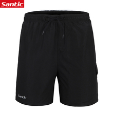 Santic Men Outdoor Shorts Bicycle Bike Short 3D Padded Riding Cycling Shorts Loose Trousers Cycling Clothes