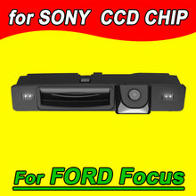 For Sony CCD new ford focus handle truck car camera back up reverse parking rear view with switch(China)