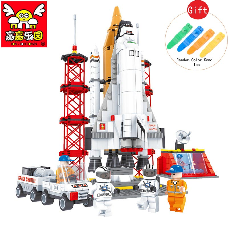560pcs Aerospace Rocket Building Blocks Compatible with Legoe Lepin Space Rocket Launch Center DIY Kids Educational Toys Gift<br>