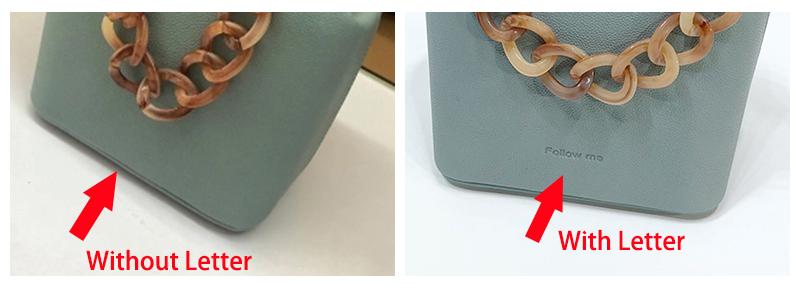 Cheap Clutch Bag Acrylic Chains Cute Messenger HandBag