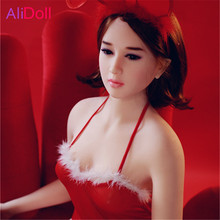 Buy Super Cute 140cm/148cm/158cm/168cm Japanese Beauty Real Silicone Sex Dolls Dropshipping Rubber Woman Boneca Sexual Free Shipping
