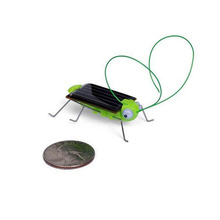 New Magic Mini Solar Power Energy Crazy Grasshopper Cricket Toy Animal Toys For Chidren