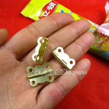 Wholesale Hardware Metal Hinges for box Jewelry box hinges Antique box hinge Invisible hinge 20*17mm 100pcs/lot Free ship