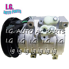 A/C Spare Parts For Caterpillar / John Deere Tractor / Komatsu Excavator Air Conditioning Compressor 1 Grooves(China)