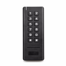 Buy 2.4G Wireless Access Control Kit Wireless Electric Door Lock RFID Keypad Remote Control Exit Button Black F1422A for $38.98 in AliExpress store