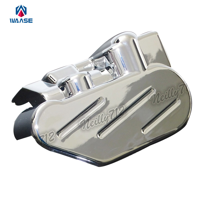 Motorcycle Rear Brake Caliper Cover Chrome For HONDA VTX1800 VTX 1800C 1800F 1800N 1800R 1800S 1800T 2002 2003 2004 2005-2008<br>