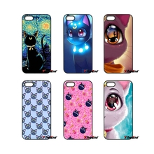 For Samsung Galaxy A3 A5 A7 A8 A9 J1 J2 J3 J5 J7 Prime 2015 2016 2017 Cute anime sailor moon lune cat Art Phone Case Cover(China)