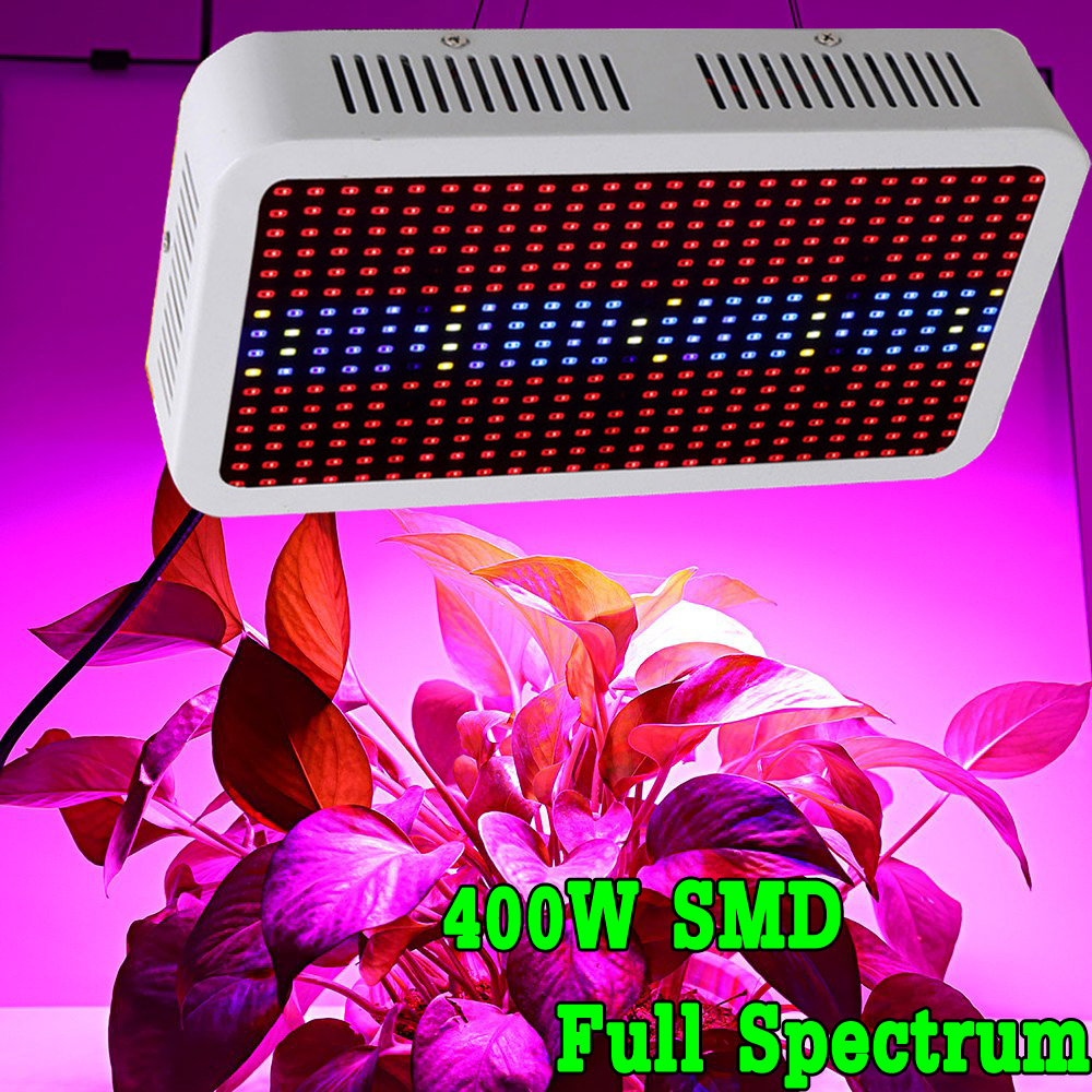 SMD Full Spectrum 400W LED Grow Light Red/Blue/White/UV/IR AC85~265V  Led Plant Lamps Best For Indoor Plants Growing &amp; Flowering<br><br>Aliexpress