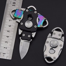 Militar Folding Knife Survival Blade Fixed Mini Knives Rescue Keychain Knife Camping Tool Hunting Pocket Military Knife