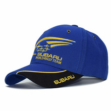 F1 Moto GP Subaru Team Embroidery Baseball Cap Motorcycle Racing Hats Snapback Motocross Riding Hats Men gorros Couple Golf Caps(China)