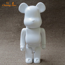 11inch 28cm 400% Bearbrick White Color Be@rbrick DIY Paint Art Fashion Toy PVC Action Figure Collection Model Toy Gifts JM15(China)