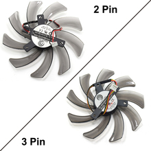 95MM Power Logic PLD10010S12H Fan Cooling Radeon HD 7750 7790 R9 285 Graphics Card Fan 12V 0.3A 2Pin 3Pin Long Wire Cooler Fans(China)