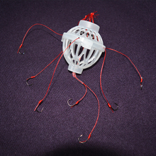 2015 New Arrival Sea Monster Explosion Hooks Seven Strong Spherical Treble Hooks Carp Fishing Hooks Lures Tackle Fly Tying