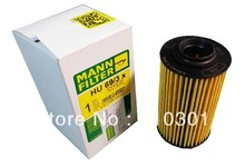 Hot sales, free shipping fee MANN oil filter HU69/3X for Saab9-5 9-3