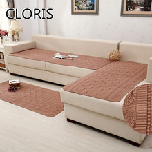CLORIS Comfortable Sofa Cover Anti-Mite Couch Covers For Fabric Sofas Rugs And Carpets For Home Living Room Sectional Slipcovers