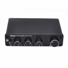 kebidumei Preamplifier Speaker System A927 4 In 4 Out Independent 4 Channel Sound Effector Car Hifi Audio Power Amplifier