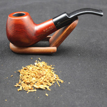 16 Tools Durable Handmade Natural Wood Smoking Pipe Set RoseWood Weed Tobacco Wooden Pipes 9mm Filters Tools WXM5ZPy