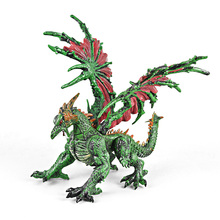 Simulation Dinosaur Toy Figure Vinyl Model Plastic Assembly Puzzle Dragon Toys for Children Randomly Sent