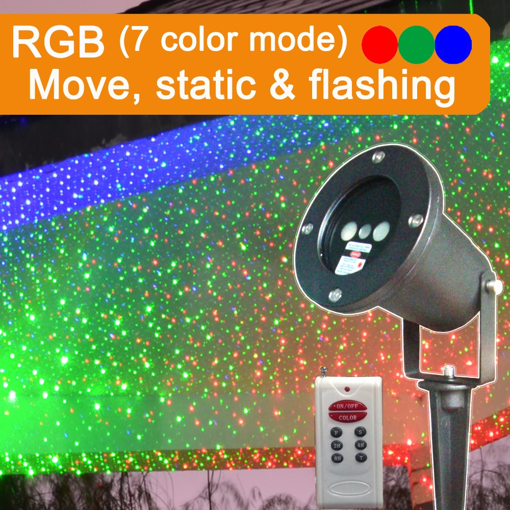 RGB laser outdoor moving, indoor outdoor home garden tree laser star projector showers, landscape light firefly spotlight laser<br><br>Aliexpress