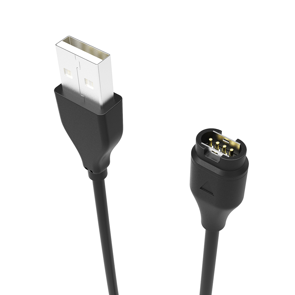 Black-USB-Charger-Data-Charging-Cable-1m-for-Garmin-fenix-5-5S-5X-Forerunner-935-Smart (2)