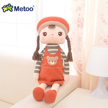 Plush Sweet Cute Lovely Stuffed Baby Kids Toys for Girls Birthday Christmas Gift 10.5 Inch Angela Rabbit Girl Metoo Doll(China)