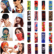 Magic Headband Outdoor Sports Neck Warmer Cycling Bike Bicycle Riding Face Mask Head Scarf Scarves Bandana 23 color