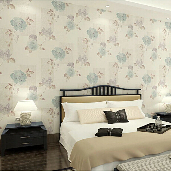 wallpaper Europe Vintage Pastoral Style Wall Paper Non-woven Simple Embossed Wallpaper 3d Floral Pattern Home Decoration Wallcov<br><br>Aliexpress