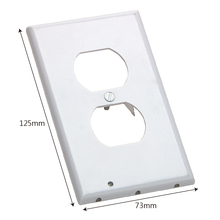 ITimo Plug Cover Light Sensor For Hallway Bedroom Bathroom LED Night Light Coverplate Safty Wall Outlet Face Lamp(China)