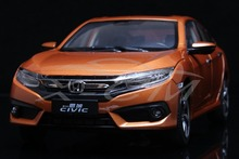 Diecast Car Model Honda Civic 10th Generation 1:18 (Orange) + SMALL GIFT!!!!!!!!!!!!!