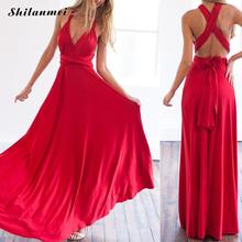 Buy 2017 Sexy Summer Long Maxi Dress Bandage Multiway Bridesmaids Convertible Dress Women Infinity Wrap Dress Beach Vestidos for $16.80 in AliExpress store