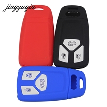 2018 audi key fob cover. contemporary key jingyuqin 30pcslot silicone car key fob cover case for audi a4 allroad b9  q5 q7 tt tts 3btn remote keyless rubber protector intended 2018 audi key fob cover