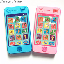 Huan qiu xin mao Baby learning machine Electronic Toys Baby's toy phone kids mobile phone russian toys phone(China)