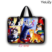 7 10 12 13 14 15 17 Tablet Bag Mini PC cover Laptop Sleeve 9.7 10.1 11.6 13.3 15.6 17.3 Computer protective case Handbag LB-5757(China)