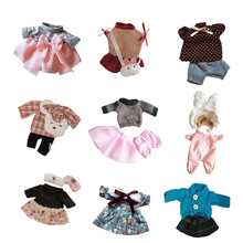 Le Sucre Bunny Rabbit Clothes Doll's Clothing Floral Lace Plush Toys Doll Dress Skirt Sweater Play House Clothes Kids Toys