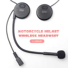 One pc to intercom ! TCOM02S Pillon-rider Passenger Motorcycle Bluetooth Intercom Helmet Headset