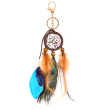 Handmade Dreamcatcher Feathers Car Wall Gift Keychain Craft Decoration  Hanging Dream Catchers Dream Catcher Decor