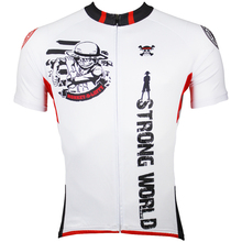 Men Cycling Jersey Anime One Piece Luffy White Cycling Clothing Men Bike Short Sleeve Cycling Jersey X139
