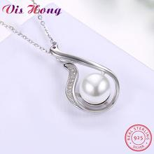 925 Sterling Silver Necklace Personality Creative Little Swan Pendant Necklace For Women Girl Female Jewelry Wedding Gift(China)