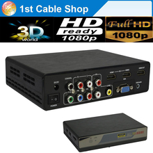 VGA HDMI Composite RCA Component YPbPr To HDMI converter Switcher Scaler up to 4kX2K supported