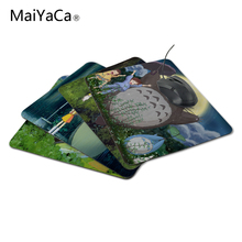 MaiYaCa New Anti-Slip PC My Neighbour Totoro Anime Umbrellas Silicon Mouse Pad Mat Mice Pad for Optical