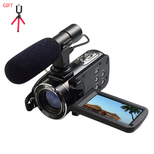ORDRO HDV-Z20 Reflex Digital Camera Wifi Control Professional Digital Camcorders with External Microphone and a tripod for free(China)