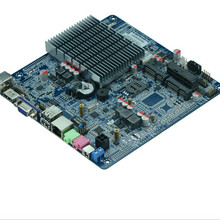 Низкая цена Intel Celeron J1900 Quad Core мин тонкие ITX материнская плата with6 * RS232 COM, 1 Gigabit LAN/NIC порт(China)