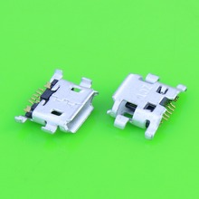100pcs lot charging port,Micro USB jack socket connector for blackberry 9800(China)
