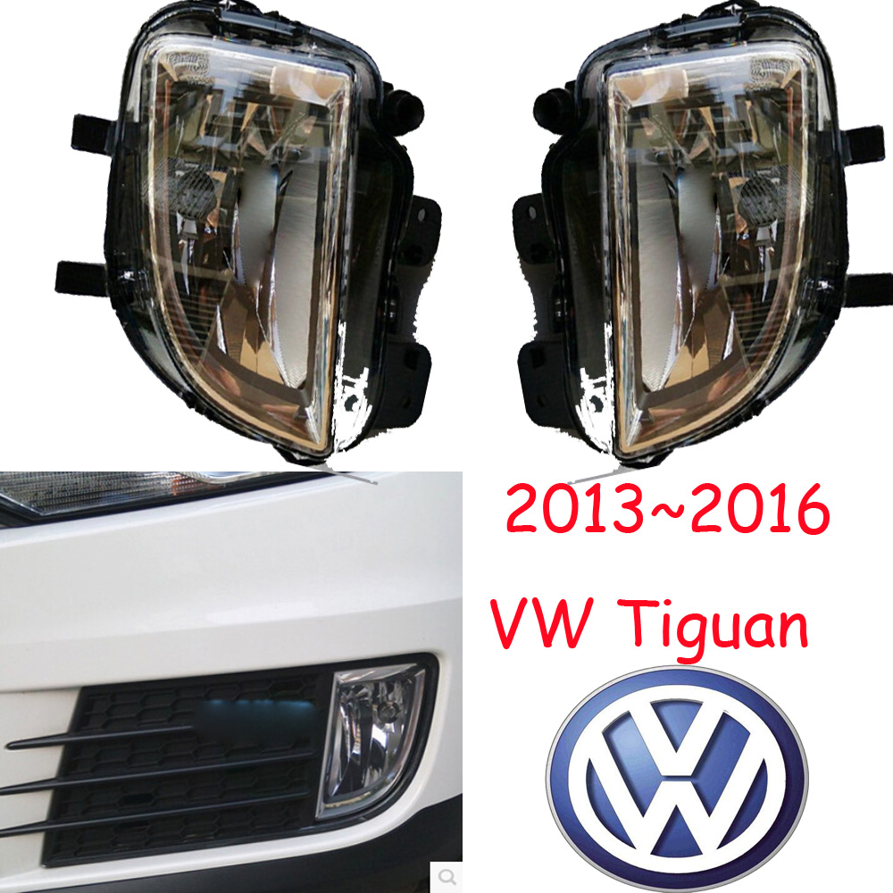 car-styling,Tiguan halogen light,2013~2016,Free ship!2pcs,Tiguan fog light;car-covers,Chrome,Tiguan headlight,car-covers,Touareg<br>